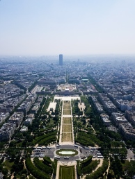 On Top of Paris (Eiffel Tower)