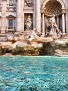 fountain of trevi